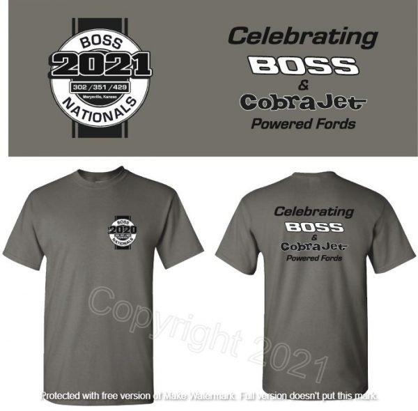 Boss Nationals 2021 T-shirt